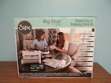 *NEW* SIZZIX BIG SHOT PLUS SHAPE CUTTING & STARTER KIT