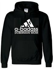 Doberman Dog Hoody Sweatshirt Doberman Mom