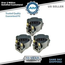 Ignition Spark Coil Pack Set of 3 Kit for Buick Chevy Cadillac Pontiac V6
