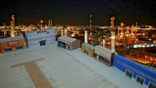 More details for 1:220 card z gauge model railway industrial warehouses 6 x buildings p-i-001 int
