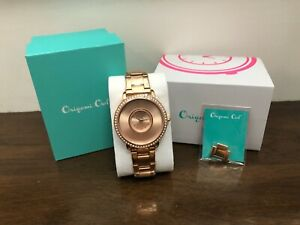 Origami Owl Rose Gold Signature Locket Watch w/Crystals LK5004 *Limited Edition*