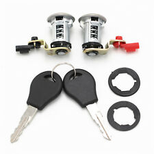 For Nissan Pickup Door Lock Set W/Key Left Right 80600-01G25 80601-01G25