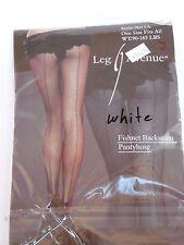 White Women's Fishnet Backseam Pantyhose Costumes Halloween Party Dance Theater