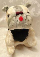 """Vintage 13"""" Tuffy Bulldog pre Uga Mascot 1940s Georgia Princess Toys 1970 Plush"""