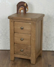 Country Over 70cm Bedside Tables & Cabinets with 3 Drawers