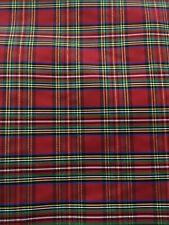 EM-GinghamTaffeta-M Woven Gingham Plaid Check Taffeta Dress Fabric