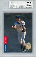 Derek Jeter NY Yankees 1993 Upper Deck SP Foil RC #279 BGS 7.5 Card - Upper Deck