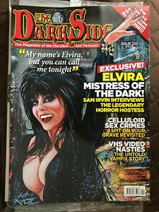 the darkside magazine issue 222  - Elvira cover oct 2021