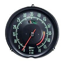 1969 1971 Corvette Tachometer Mechanical 5600 Redline New
