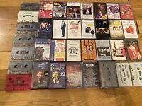 Audio Music Cassette Tape Bundle. Various Artists/Playlists. Good Condition.