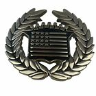 Famous Stars & Straps Belt Buckle Patriotic USA D-Ring Metal 8387 Cadillac