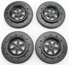 DE Racing Front Gambler No-Prep Drag Racing Wheels - For Accelerator Tires 4pcs