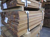 "Teak Lumber Marine Quality 1-PC 1""x4"" x 3 1/2 ' Exotic Burmese Wood KD-RGH"
