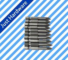 10 Piece PH2 Drive Bits Screwdriver Screw Driver Bits CR-V Phillips 2'' 50mm