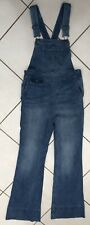 ANTHROPOLOGIE PILCRO AND THE LETTERPRESS DENIM JEAN DUNGAREES. SIZE 26 (UK 10)