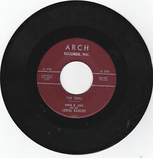 HERB B.LOU AND THE LEGAL EAGLES-ARCH 1607 R&B ROCK BREAK-IN 45 THE TRIAL  VG++