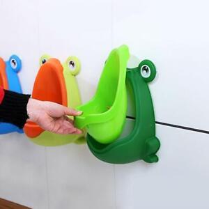 Frog Potty Toilet Children Training Kids Urinal For Boys Trainer Pee R5E1 L5K3