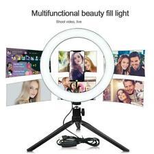 """10"""" светодиодный селфи кольцо света с тренога держатель для телефона для живой Youtube макияж"""
