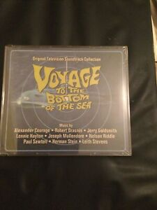 VOYAGE TO THE BOTTOM OF THE SEA 4CD TV SOUNDTRACK SCORE,limited Edition Of 1000