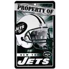 Wincraft Property Of Sign New York Jets Plastic Sign 7 x 12 New