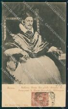 Roma Galleria Doria Pamphili Papa Velasques cartolina XB4572