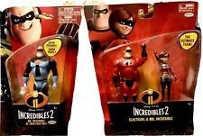 Lot Of 2 Incredible 2 Figures Mr Incredible & Red Mr Incredible - Elastigirl
