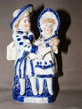 ANTIQUE CONTA BOEHME? GERMAN BLUE FAIRING FIGURINE PORCELAIN THE DOCTOR