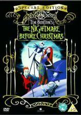 TIM BURTON'S THE NIGHTMARE BEFORE CHRISTMAS SE DVD NEW & SEALED REGION 2 BBFC PG