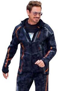 Avengers Infinity War IRONMAN Tony Stark Camouflage 2018 Hoodie Jacket