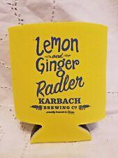 Karbach Lemon Ginger Radler Koozie