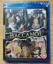 Baccano! Blu-Ray Region B NEW Sealed.