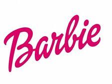**BARBIE LOGO****FABRIC/T-SHIRT IRON ON TRANSFER::::::::::::::::::::::::::::::::