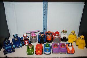 Lot of 16 - Paw Patrol PJ Mask Little People Racers