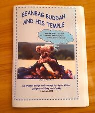 """Beanbag Buddah"" teddy bear pattern only"