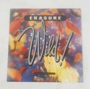 ERASURE  WILD ORIGINAL 1989 LP VINYL ALBUM