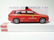 Busch Audi A4 3.0 quattro TAXI Audi Werbemodell OVP 1//87 H0 Neu