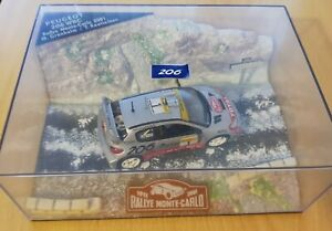 1:43 Peugeot 206 WRC Monte-Carlo 2001