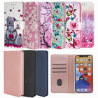 For Samsung Galaxy S9 S10 S21 S20 FE A52 5G A12 Wallet Flip Case Stand Cover