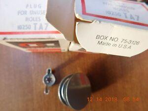 * Cutler Hammer 10250TA7 Plug -Lot Of 2 NIB