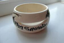 Toni Raymond Egg Separator Handpainted Yellow Floral British