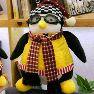 Kids 47cm Joeys Friend HUGSY Plush Penguin Animal Stuffed Toy Soft Birthday Gift