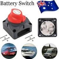 Battery Master Switch Boat Marine Caravan Switch Isolator 12/24V 600A RV ATV UTV