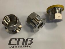 BSP to Ferrule Tri Clamp Adaptor Stainless 316L BSPP Female Tri Clover Flange