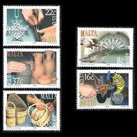 Malta 2006 - Art Crafts Glass Ornament Glassblower Pottery - Sc 1270/74 MNH