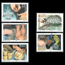 Malta 2006 - Art Artisanat Verre Ornement Glassblower Pottery - Sc 1270/74 MNH