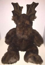 "BIG Brown CHRISTMAS MOOSE Plush ~ 20"" ~ NEW without the TAG"