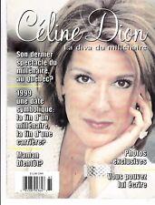"""Celine Dion """"Rare"""" La Diva Du Millenaire Limited Eddition Magazine 30 Pages"""