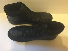 Women's Converse All Star Sneakers Boot Hi Size 6  Black Leather