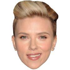 Scarlett Johansson Celebridad Máscara, Cara de tarjeta y máscara de Vestido de fantasía