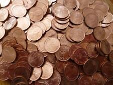 1971 pièces demi penny emballées A bulk pack of 100 hors-circulation